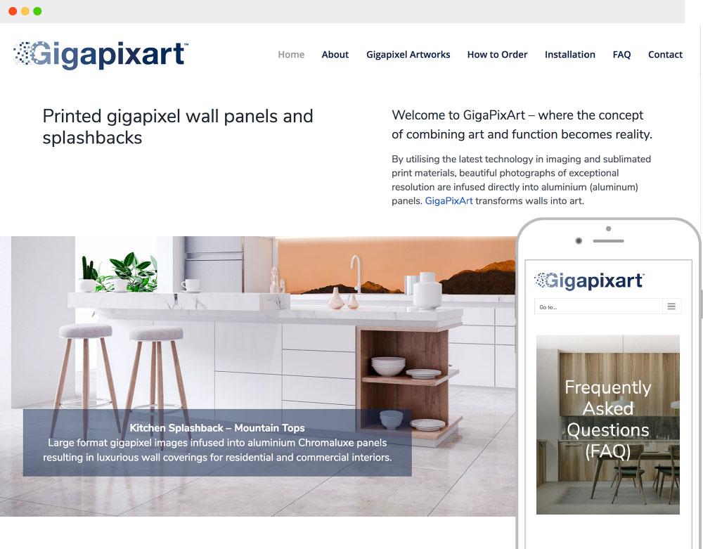 New business web design
